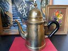 Vintage Brass Tea Pot Kitchenware Kitchen Appliances Kitschy decor Made in India photo