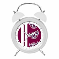 Manly Sea Eagles NRL Twin Bell Clock Money Box With Light