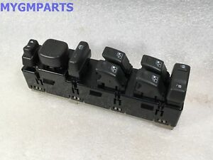 HUMMER H2 POWER MASTER WINDOW SWITCH W/MIRROR SWITCH 2003-2004 NEW OEM  15883319