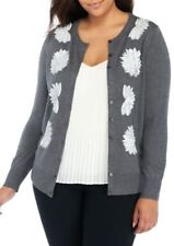 THE LIMITED Plus Size Embellished Sequin Cardigan NWT Size 2X