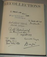 SIGNED by BRASSAI, LOTTE JACOBI & others RECOLLECTIONS: TEN WOMEN OF PHOTOGRAPHY