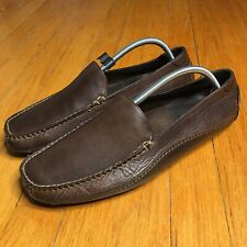 Cole Haan Loafers Slip On Shoes Brown Leather Men's 10M