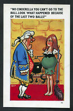 C1970s Comic/Cartoon: Pregnant Cinderella: You Can't Go to the Bell