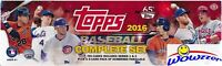 2016 Topps Baseball HUGE 705 Card HOBBY Factory Set-5 EXCLUSIVE #'d PARALLELS !