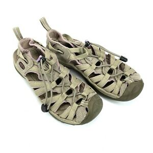 Keen Women's 5124 Waterproof Outdoor Anti-Odor Sandals Size 6.5 Grey Purple