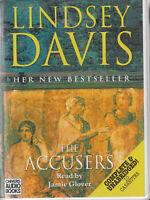 Lindsey Davis The Accusers 10 Cassette Audio Book Unabridged Falco Book 15