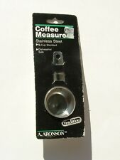 Aronson Coffee Measure Stainless Steel 1/8 Cup