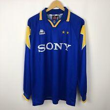 Vintage Juventus 1995 1996 Away football shirt soccer jersey long sleeve kappa