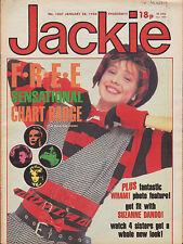 Jackie Magazine 28 January 1984 Issue 1047    Bucks Fizz   Wham!   Suzanne Dando