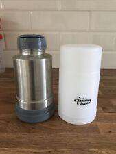 Tommee Tippee travel bottle & food warmer flask