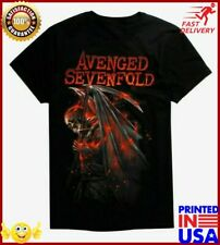 Avenged Sevenfold A7x Fire Reaper T Shirt Nwt Authentic & Licensed