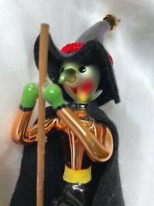 Christopher Radko HIL.DA Wicked Witch Halloween Ornament 952560 EUC 1995