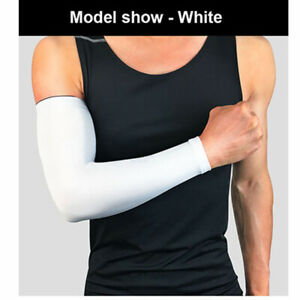 Arm Compression Sleeve Cooling Sport Anti-UV Sun Protection Elbow Support Brace