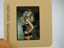 More details for original press promo slide negative - christina aguilera - early 2000's - a