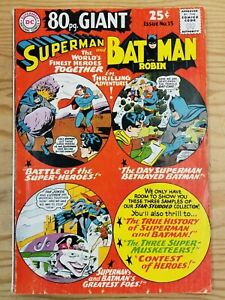 Superman and Batman #15 80 Page Giant
