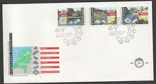 Netherlands 1991 FDC Cultural Health and welfare funds fine used set stamps