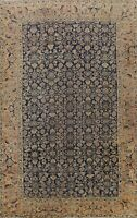 Antique Pre-1900 Geometric Vegetable Dye Hamedan Area Rug Hand-knotted Wool 9x12