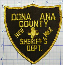 NEW MEXICO, DONA ANA COUNTY SHERIFF'S DEPT VERSION 2 PATCH