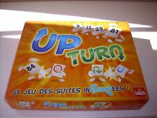 "JEU DE SOCIETE "" UP TURN "" DE GOLIATH ( STYLE DE RUMMIKUB ) COMPLET"