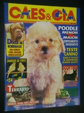Caes & Cia Brazilian Dog Magazine Poodle Scottish Terrier Cover Sept 1995