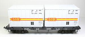 Spur G LGB 4069 Containerwagen OVP
