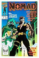 Nomad #1 (1990 Marvel, Vol. 1) Captain America! Unread! NM