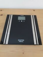 Salter 200kg MiBody Bluetooth Digital Analyser Bathroom Scales - Black