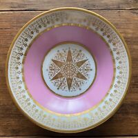 Rose Pompadour Sevres Porcelain Saucer