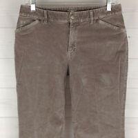 J. Jill Womens Size 8 Stretch Solid Light Purple Mid Rise Bootcut Corduroy Pants