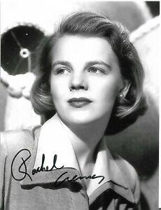 Sehr Rares Autogramm von Rachel Ames,spielte in vielen Hollywoodfilmen