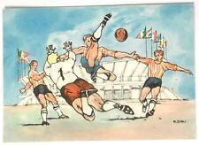 Cartolina Illustrata XVII Olimpiade Roma 1960 - Calcio