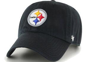 Pittsburgh Steelers '47 NFL CLEAN UP Cap Hat Adjustable Strapback Men's Football