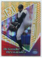 1999 Topps Tek Gold Pattern 26 40b Orlando Hernandez 9/10