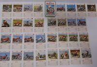 RARE Vtg 1981 MOTORCYCLES PLAYING CARD GAME HARLEY DAVIDSON HONDA DUCATI SUZUKI