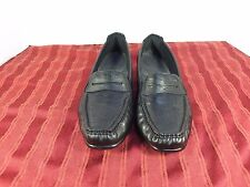 SAS Comfort Loafers Casual Work Walking Shoes Women Size 9M Black Leather