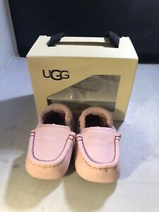 Ugg Baby Pink Sibia Shoes Size 2/3 # 10171921 (903)