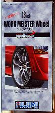 Felgen Work Meister Wheel 18 Zoll inkl. Reifen, 1:24, Fujimi 193335