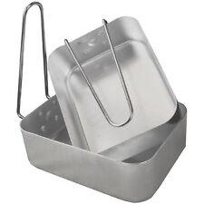 Accessoires matériel de cuisine gris aluminium pour tente et auvent de camping