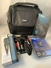 Vivitar Accessories Coco Series Gadget Camera Bag Includes Tripod Polyester NWT