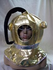 Fun Fabric Diver Costume Helmet Retro Navy Deep Sea Diving Scuba Robot Astronaut