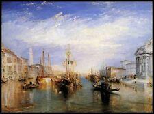 El Gran Canal Venecia by Turner Giclée Lienzo/Estampado Buen Arte Cuadro Póster