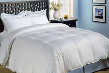 Warm Cool Down Alt White Soft Baffle Box Comforter Full Queen & King Szs New!