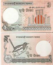 BANGLADESH UNCIRCULATED BANKNOTE -2 Taka 2010