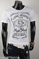 Estupenda ▌ hallar una-jeans-manga corta-t-shirt ▌ Weiss ▌ talla s