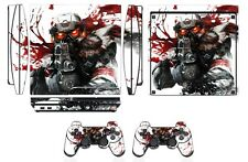 Skin Sticker Cover for PS3 PlayStation 3 Slim and 2 controller skins Q254