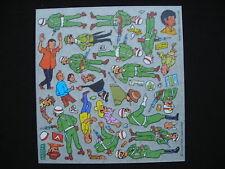 Decalcomanie HERGE Tintin 1978 16x17