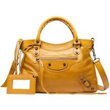 BALENCIAGA Classic Town Bag in Yellow Mustard - NWT