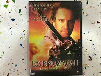 LOS INMORTALES III EL HECHICERO DVD CHRISTOPHER LAMPBERT MARIO VAN PEEBLES