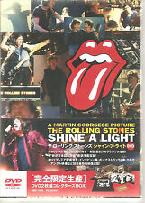 "ROLLING STONES / MARTIN SCORSESE ""Shine A Light"" 2DVD Box + T-Shirt Japan sealed"