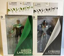 DC Comics new 52 Green Lantern JOHN STEWART & Cyborg Action Figures
